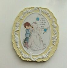 Precious Moments Sweet Inspirations Wedding Plaque