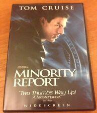 ☀� Minority Report Dvd 2-Disc Set Ws Tom Cruise w/French Audio R1 Mint
