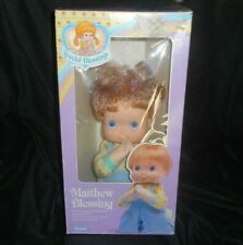Vintage 1988 Kenner Special Blessings Matthew Boy Doll #34040 Praying In Box Toy