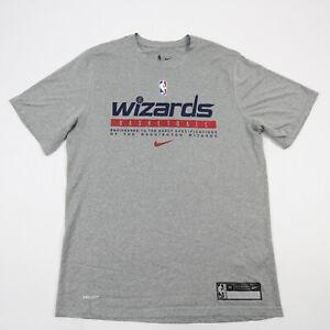Washington Wizards Nike NBA Authentics Short Sleeve Shirt Men's Gray Used