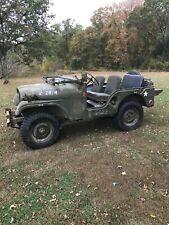1954 M38A1 army Jeep Survivor