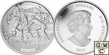 2011 Kilo 'Lacrosse' $250 Silver Coin .9999 Fine *No Tax (12857)