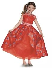 Elena Of Avalor Disney Girl's Deluxe Costume Dress Up Size 4-6X