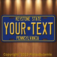 Pennsylvania  KETSTONE ANY Text Custom Personalized Aluminum License Plate TAG