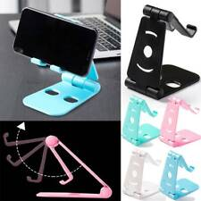 Portable Desk Tablet Desktop Adjustable Pad Phone Holder Stand For iPhone iPad