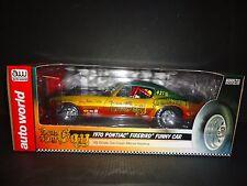 Auto World Pontiac Firebird 1970 Funny Car Don and Gay AW206 1/18