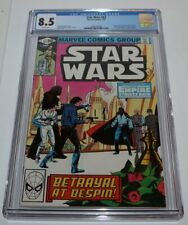CGC 8.5 white pages Star Wars 43 1st App Lando Calrissian ESB Boba Fett Han Solo