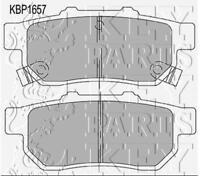 Key Parts Rear Disc Brake Pad Set Pads KBP1657 - GENUINE - 5 YEAR WARRANTY