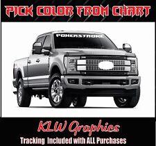 "46"" Powerstroke Banner *Window Vinyl decal Sticker Truck Diesel 2500 Super Duty"