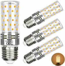 Ampoule Led E27 - 12w équivalent à 100W - Blanc Chaud 3000 K - Lot de 4 Ampoules