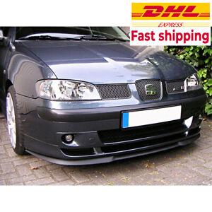 For Seat Ibiza MK2 MK3 CUPRA R FRONT SPOILER BUMPER LIP Euro Lip Universal