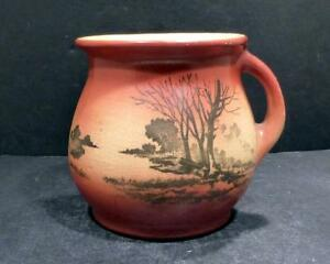 Roseville Autumn Scenic Landscape Shaving Mug - HARD TO FIND