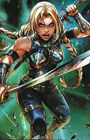 War Of The Realms Comic Issue 4 Limited Battle Lines Variant Modern Age 2019
