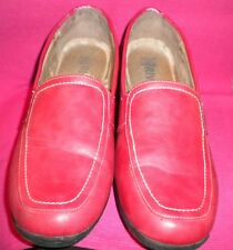 Riversoft Red Flat Shoes. Size - 39.
