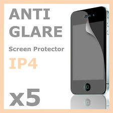 5 x Anti-Glare Matte LCD Screen Protector Skin Film for Apple iPhone 4S 4G 4