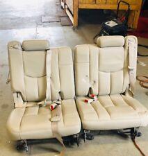 2001-2006 Chevy Tahoe GMC Yukon Cadillac Escalade  50/50 split 3rd row seats!