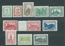 España Sueltos 1936 Edifil 802/11+808A ** Mnh