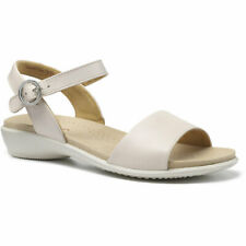 Hotter Women's Tropic Wide Fit Open Sandal Leather Buckle Fastening Adult