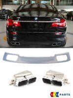 BMW Neu Original 7 F01 F02 M SPORT Stoßstange Verkleidung Diffusor Exhaust Tips