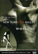 New York City Ballet Workout (2004, REGION 1 DVD New)