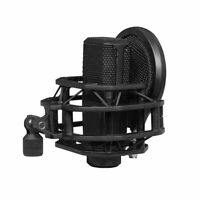 Microphone Shock Mount with Pop Filter for Lewitt LCT-240 Pro Live Broadcast