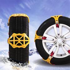 Boucles de chaînes antidérapantes pour neige de voiture épaississant le pneu TPR