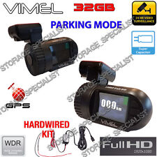 Security Camera for Car Parking Mode GPS  Hardwired Super Capacitor Backup Truck