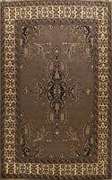 Geometric Bakhtiari Oriental Area Rug Wool Hand-Knotted Dining Room Carpet 8x11