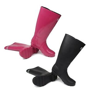 Ladies Kangol Cushioned Sturdy Buckle Finish Tall Wellies Sizes from 3 to 9