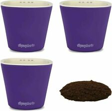 Window Garden – Aquaphoric Self Watering Mini Planter Pots (3 Purple Matte