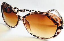 Ladies Leopard print Tortoise shell Tinted UV protected SUNGLASSES UK Seller