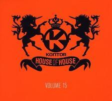 CD Kontor House of House Vol.15 3 CD's Digipack