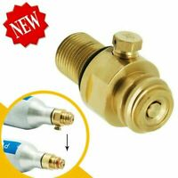 New Threads M18*1.5 CO2 Tank Pin Brass SodaStream Pin Valve Maker Valve Adapter