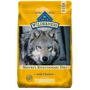 Blue Buffalo Wilderness High Protein Grain Free Natural Adult Healthy Weight Dry