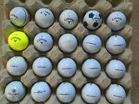 Callaway Lake Golf Balls Various - Grade A/B Condition QTY 20