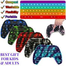Popit Fidget Toy Zappel Spielzeug Controller Gamepad Tastatur Bubble Sensory Toy