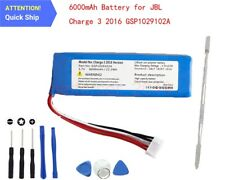 New Battery For JBL Charge 3 2016, Charge 3 2016 Version 6000mAh GSP1029102A