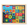 Melissa & Doug 13775 Lacing Beads Set Wooden Bead Case with Laces Coloured Set