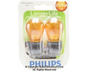 NEW Philips 3757 NA Automotive 2-Pack 3757NALLB2 Bulb