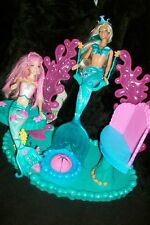 Barbie Magical & Mermaid lagoon Crystal Falls Playset Kayla doll
