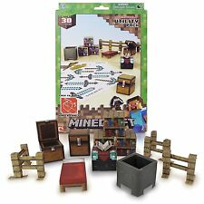 Minecraft Papercraft Utility Pack, Over 30 Pieces , New, Free Shipping