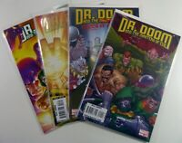 Marvel DOCTOR DOOM & The MASTERS of EVIL (2009) #1 2 3 4 Complete NM Ships FREE!