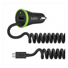 Belkin Boost up Universal Car Charger With Micro USB Cable 17w 3.4amp 40 Faster