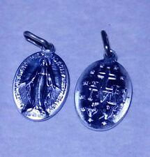 Véritable Médaille Miraculeuse de Sainte Catherine Labouré - Couleur Argent