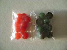 Lionel R-68 Red Cap & R-69 Green Cap (10 of each color)