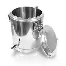 Marmite cuisine cuve de brassage isolante en inox thermos 70 litres REF 10233