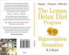 LEMON DETOX DIET PROGRAM BOOK BY DR K A BEYER  REJUVENATION SENSATION