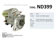 Yanmar starter motor suits 4LH, KM5A engines