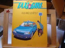 TAXI GIRL T2 VOUS AIMEZ LES BETES EO1996 TBE/TTBE DUPUIS LAUDEC CAUVIN