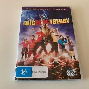 The Big Bang Theory Complete Season 5 five fifth DVD R4
